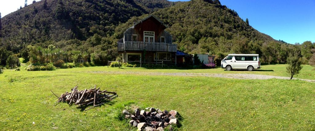 Re-wild Yourslef nature connection retreat at eco lodge in Wairarapa